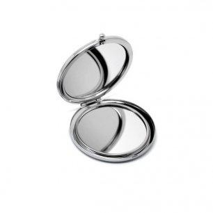 Miroir de poche rond à décorer emplacement 57mm 58mm