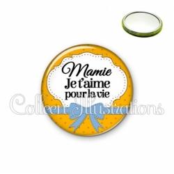 Miroir 56mm Mamie je t'aime pour la vie (183ORA01)