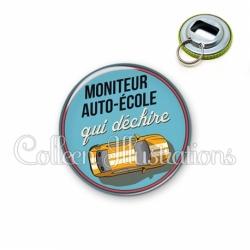 Décapsuleur 56mm Moniteur auto-école qui déchire (032BLE01)