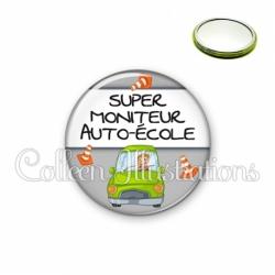 Miroir 56mm Super moniteur auto-école (184GRI01)