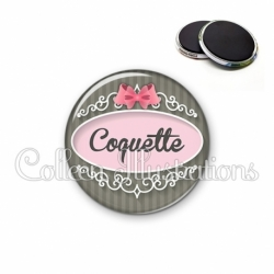 Magnet 56mm Coquette (043GRI01)