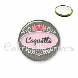 Miroir 56mm Coquette (043GRI01)
