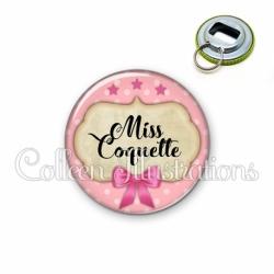 Décapsuleur 56mm Miss coquette (006ROS03)