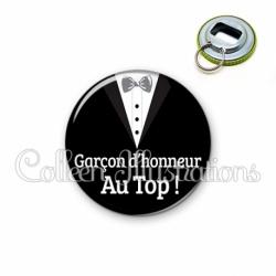 Décapsuleur 56mm Garçon d'honneur au Top ! (098NOI01)