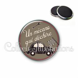 Magnet 56mm Un mecano qui déchire (032MAR01)