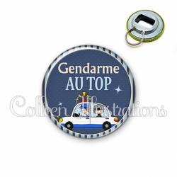 Décapsuleur 56mm Gendarme au top (031BLE01)