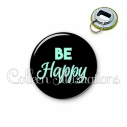 Décapsuleur 56mm Be happy (181NOI10)