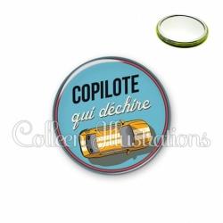Miroir 56mm Copilote qui déchire (032BLE01)
