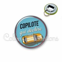 Décapsuleur 56mm Copilote qui déchire (032BLE01)