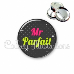 Badge 56mm Mr Parfait (157GRI02)