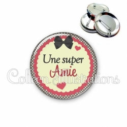 Badge 56mm Une super amie (041MAR01)