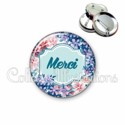 Badge 56mm Merci (141MUL01)