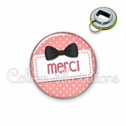 Décapsuleur 56mm Merci (003ROS03)