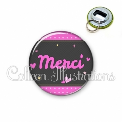 Décapsuleur 56mm Merci (019ROS02)