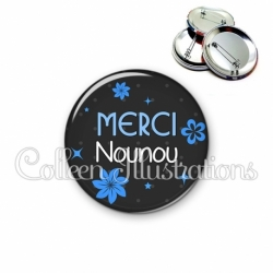 Badge 56mm Merci (014GRI07)
