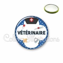 Miroir 56mm Vétérinaire (002BLE01)