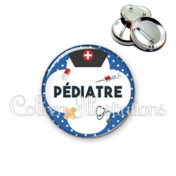Badge 56mm Pédiatre (002BLE01)