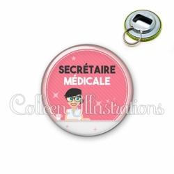 Décapsuleur 56mm Secrétaire médicale (035ROS03)