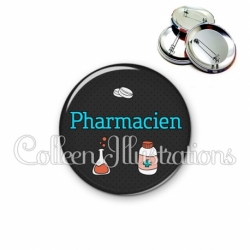 Badge 56mm Pharmacien (166GRI01)