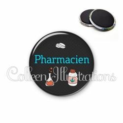 Magnet 56mm Pharmacien (166GRI01)