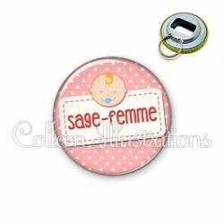 Décapsuleur 56mm Sage-femme (003ROS07)