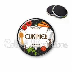 Magnet 56mm Cuisinier (045NOI03)