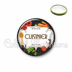 Miroir 56mm Cuisinier (045NOI03)