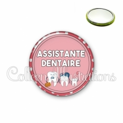 Miroir 56mm Assistante dentaire (012ROS01)