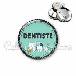 Badge 56mm Dentiste (012VER01)