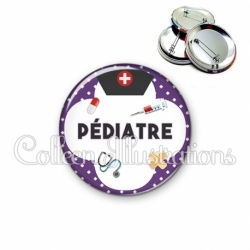 Badge 56mm Pédiatre (002VIO01)