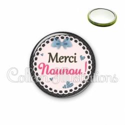 Miroir 56mm Merci nounou (005BLE08)