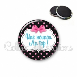 Magnet 56mm Nounou au top (006NOI21)