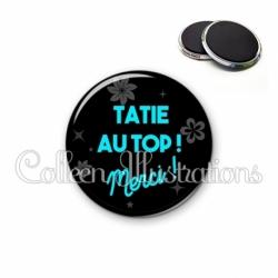 Magnet 56mm Tatie au top (014NOI04)