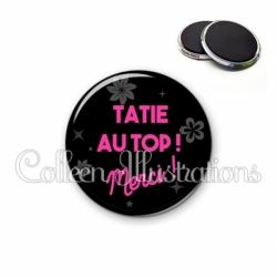 Magnet 56mm Tatie au top (014NOI02)