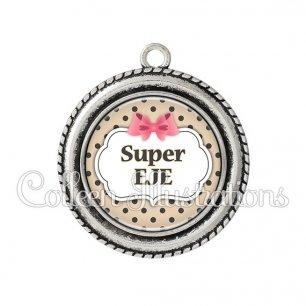 Pendentif résine Super EJE (006MAR04)