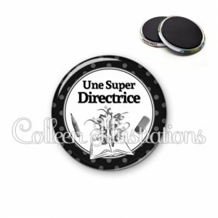 Magnet 56mm Super directrice (001NOI02)