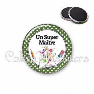 Magnet 56mm Super maître (001VER07)
