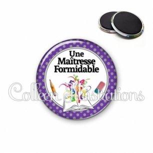 Magnet 56mm Maîtresse formidable (001VIO01)