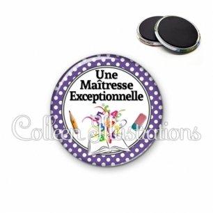 Magnet 56mm Maîtresse exceptionnelle (001VIO04)