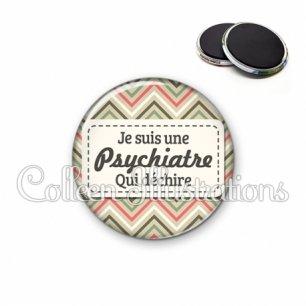 Magnet 56mm Psychiatre qui déchire (003MUL01)