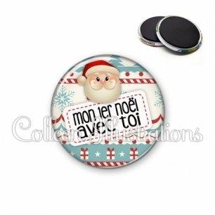 Magnet 56mm Mon 1er Noël avec toi (003MUL06)