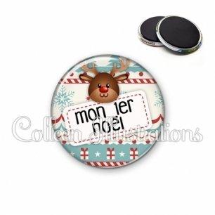 Magnet 56mm Mon 1er Noël (003MUL07)