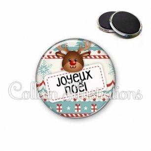 Magnet 56mm Joyeux Noël (003MUL07)