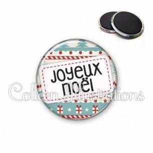 Magnet 56mm Joyeux Noël (003MUL08)