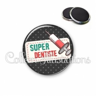 Magnet 56mm Super dentiste (003NOI05)