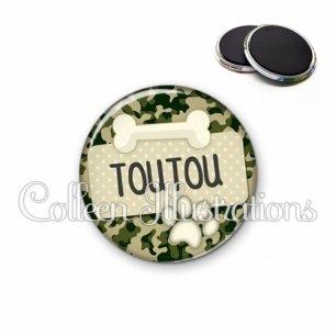 Magnet 56mm Chien Toutou (003VER03)