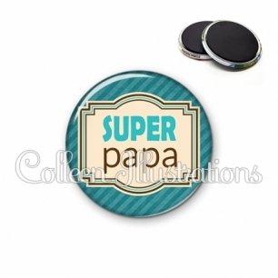Magnet 56mm Super papa (004BLE01)