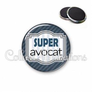 Magnet 56mm Super avocat (004GRI01)