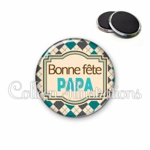 Magnet 56mm Bonne fête papa (004MUL01)