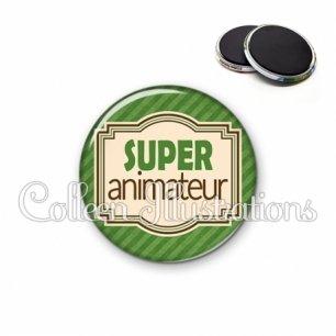 Magnet 56mm Super animateur (004VER01)